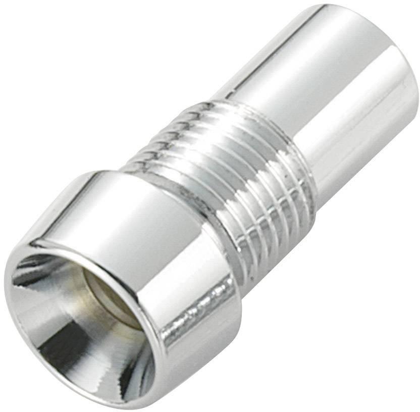 LED objímka TRU COMPONENTS TC-R9-126L, kov, vhodná pro LED 5 mm