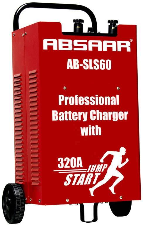 Dielenská nabíjačka Absaar AB-SLS 60, 12 V, 24 V