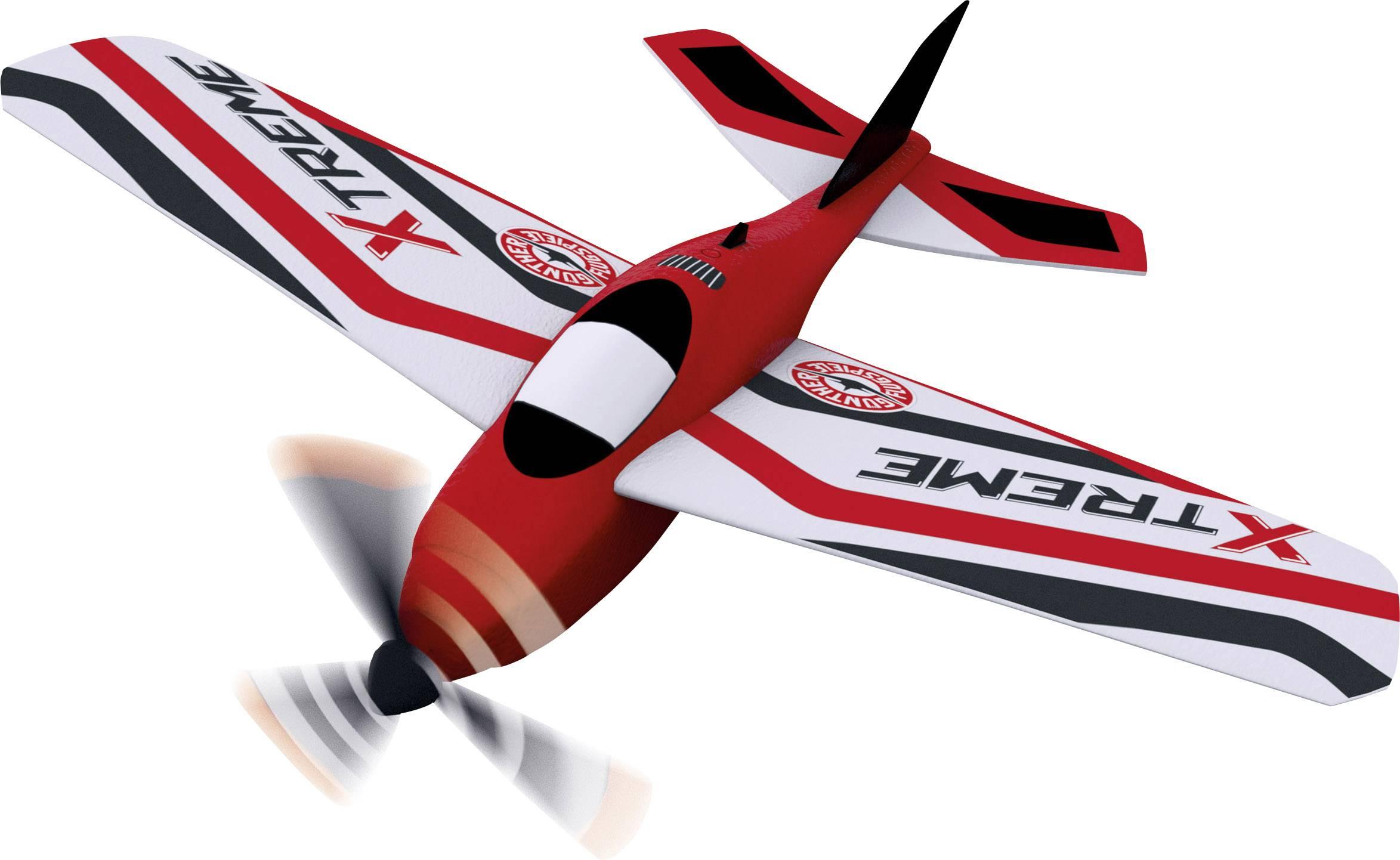 Model letadla pro začátečníky Günther Flugspiele Xtreme, 215 mm