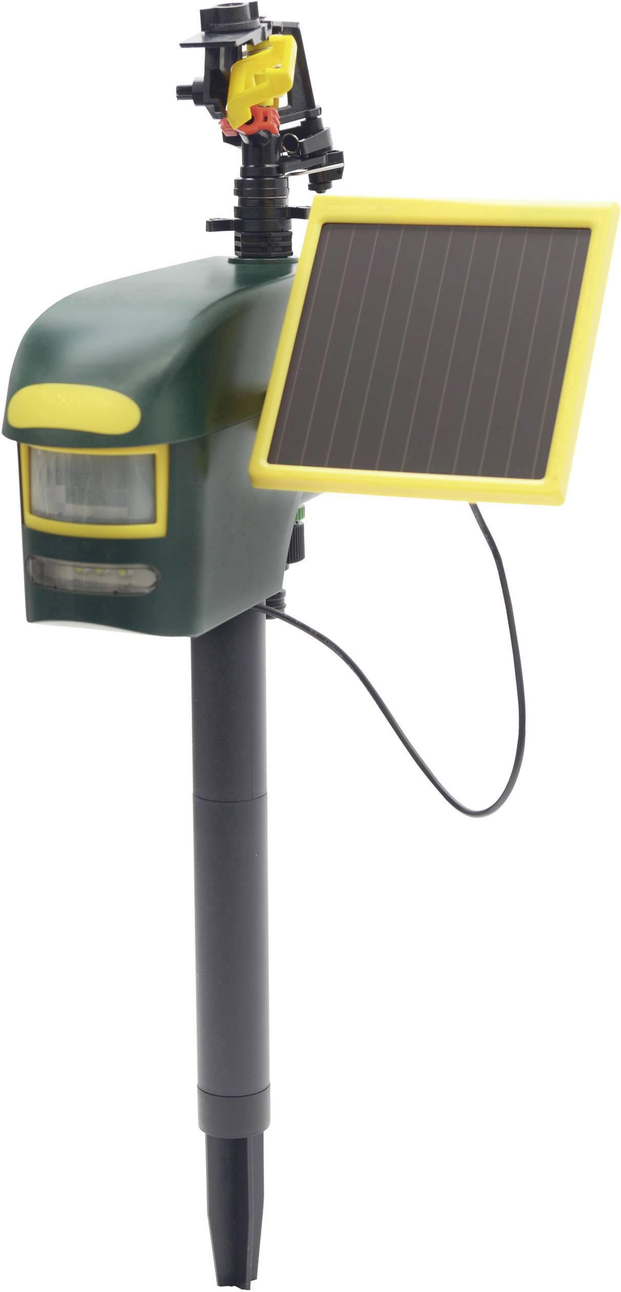 Vodný odpudzovač škodcov so solárnym nabíjaním a senzorom pohybu Gardigo 60082