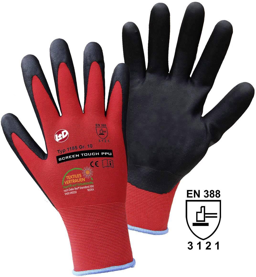 Pracovní rukavice Griffy SCREEN TOUCH PPU 1185, velikost rukavic: 9, L