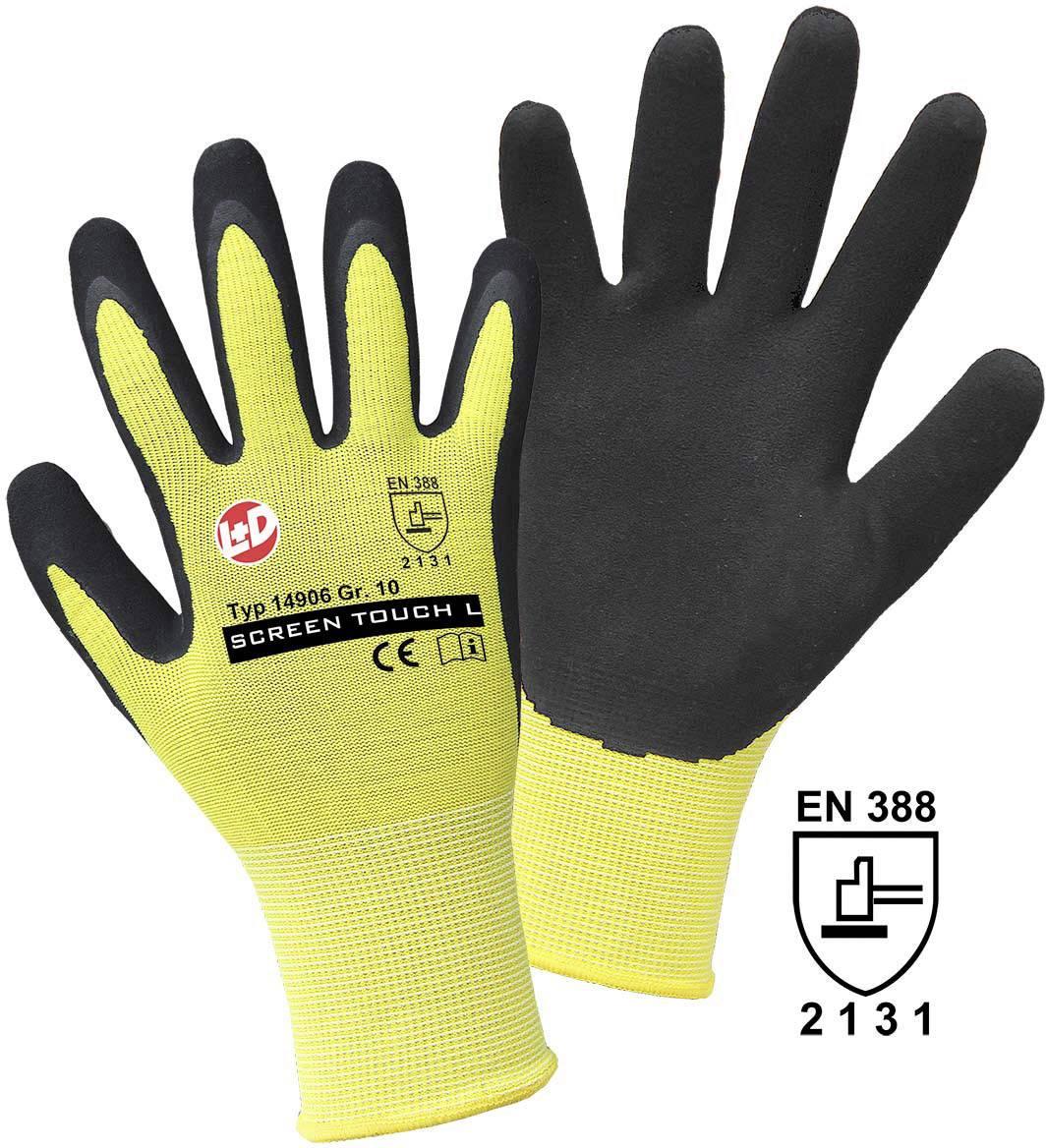 Pracovní rukavice Griffy SCREEN TOUCH L 14906, velikost rukavic: 7, S