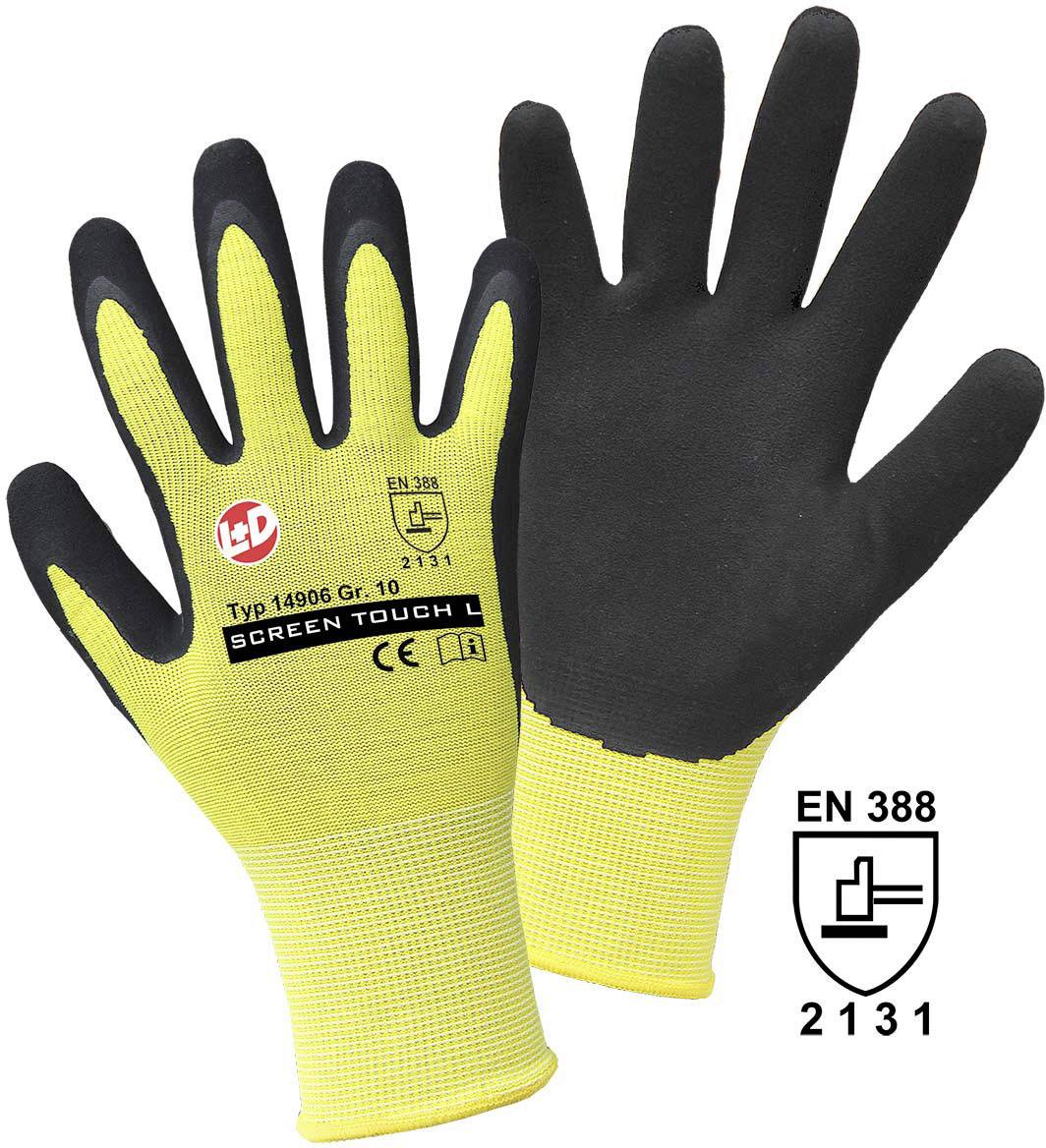 Pracovní rukavice Griffy SCREEN TOUCH L 14906, velikost rukavic: 8, M