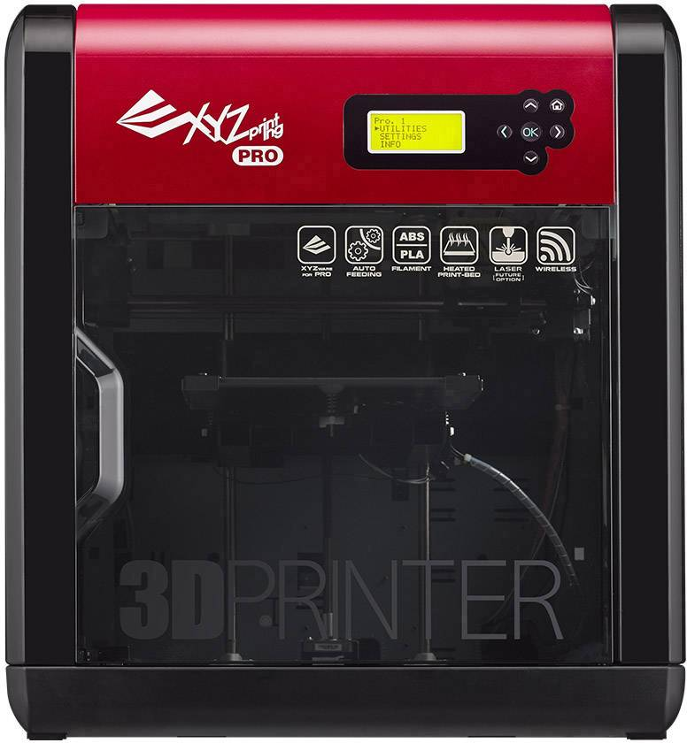 3D tlačiareň XYZprinting da Vinci 1.0 Pro 3in1