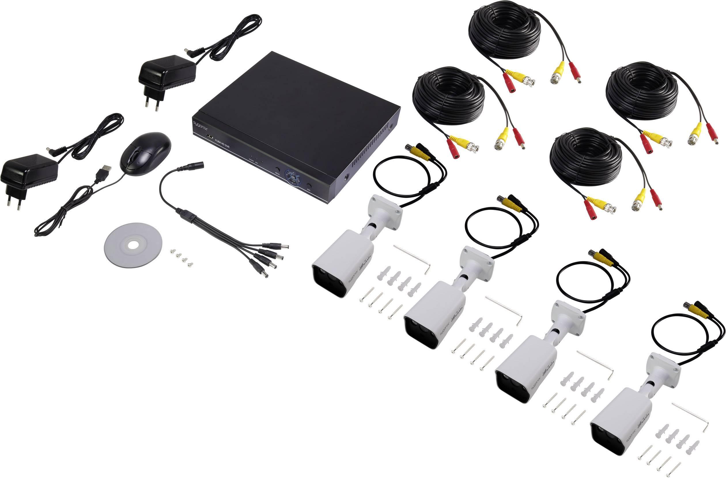 Kamerový systém Sygonix 10665Y1, kompletná súprava