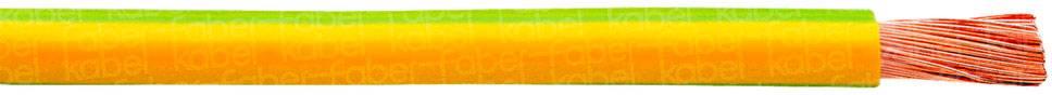 Opletenie / lanko Faber Kabel 040198 H07V-K, 1 x 6 mm², vonkajší Ø 4.50 mm, metrový tovar, červená