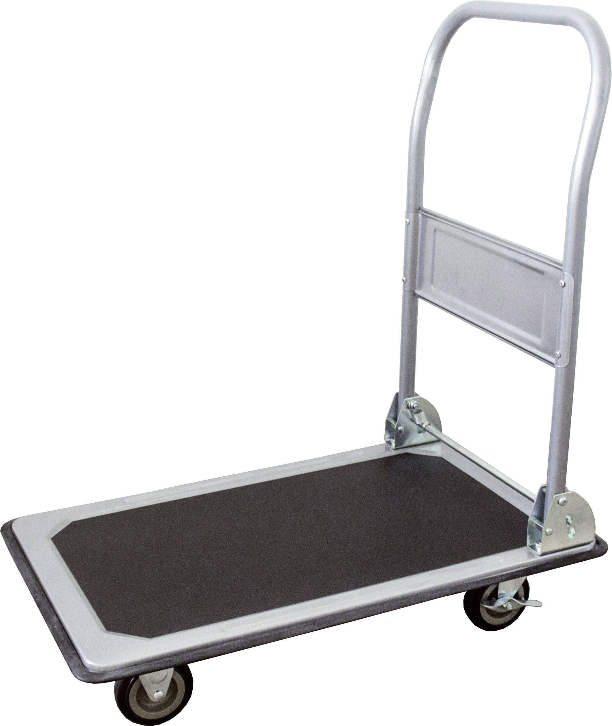 Plošinový vozík skládací ocelový plech Zatížení (max.): 150 kg pro-bau-tec® 14020