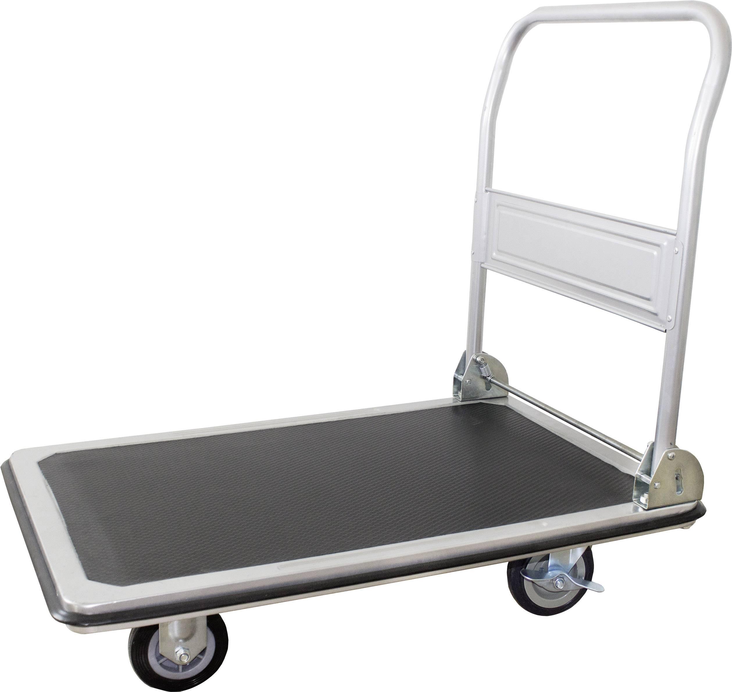 Plošinový vozík skládací ocelový plech Zatížení (max.): 250 kg pro-bau-tec® 1499487