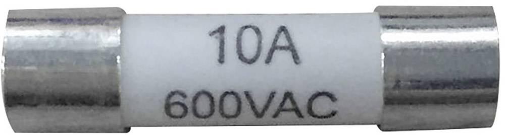Pojistka multimetru HV510.10, HV510.10, (Ø x d) 5 mm x 20 mm 10 A 600 V F superrychlá, 1 ks