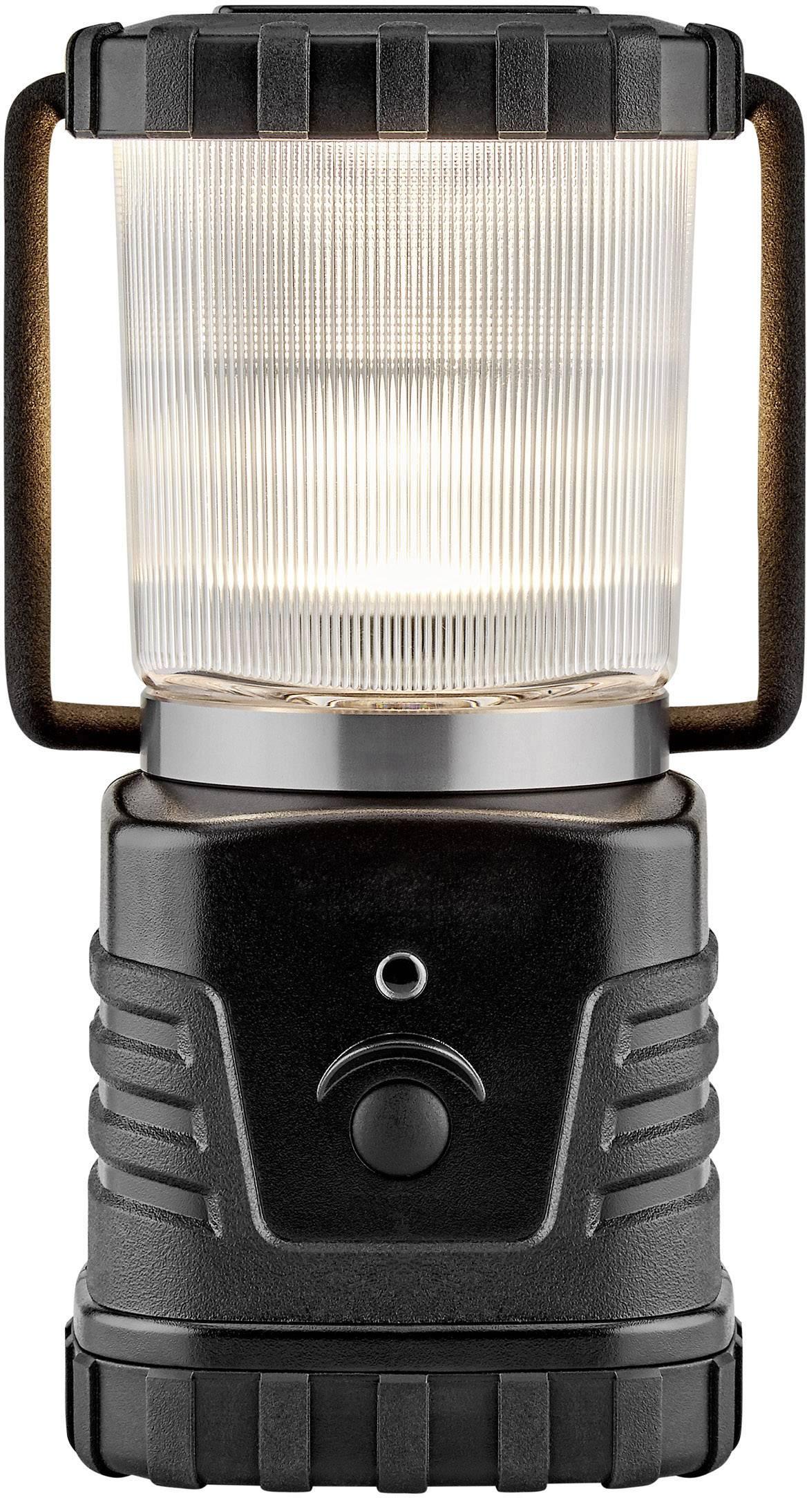 LED kempingová lucerna Polarlite Profi 280 817 g, černá
