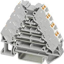 Řadicí rozvaděč Phoenix Contact PTRV 4 /WH 3270115, 10 ks, šedá