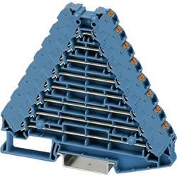 Řadicí rozvaděč Phoenix Contact PTRV 8 BU/BU 3270136, 10 ks, modrá