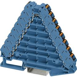 Rozvaděč potenciálu Phoenix Contact PTRV 8-PV BU/BK 3270145, 10 ks, modrá