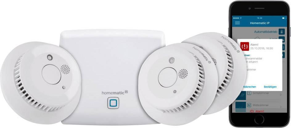 Startovací sada pro detekci kouře Homematic IP HmIP-SK4