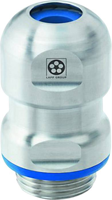 Kabelová průchodka LAPP SKINTOP HYGIENIC M25X1,5 hygienické , EMS nerezová ocel, stříbrná, 5 ks