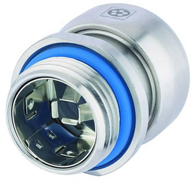 Kabelová průchodka LappKabel SKINTOP® INOX SC M 16 nerezová ocel, délka závitu 7 mm, nerezová ocel, 5 ks
