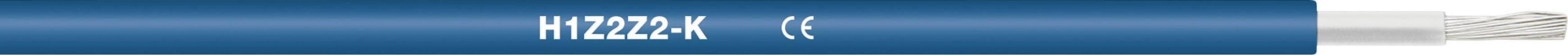 Fotovoltaický kabel H1Z2Z2-K 1 x 4 mm² modrá LappKabel 1023582/500 500 m