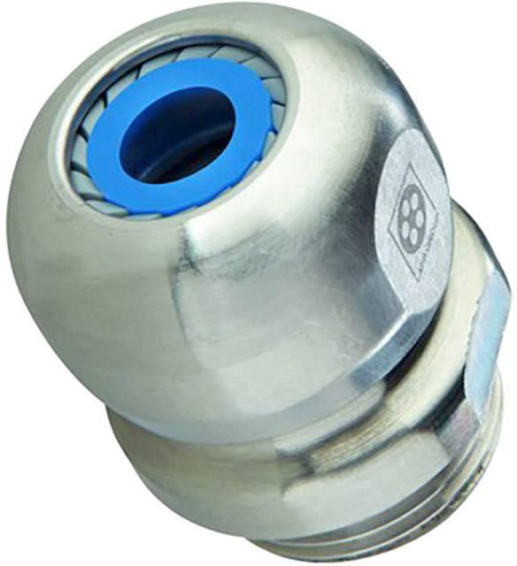 Kabelová průchodka LappKabel SKINTOP® INOX-R M12x1,5 nerezová ocel, délka závitu 6.5 mm, nerezová ocel, 5 ks
