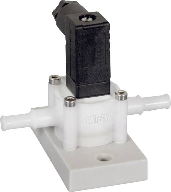 Senzor průtoku B.I.O-TECH e.K. PVDF-Chemie, 4.5 - 24 V/DC, 0.025 - 2.5 l/min, (d x š x v) 77 x 62 x 60 mm