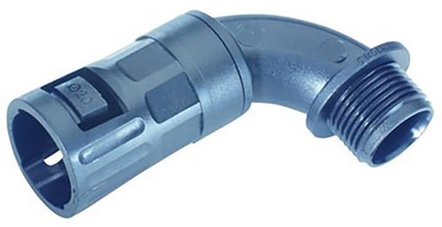 Hadicová spojka LappKabel SILVYN® FLEXILOK 90° M 20x1,5 /16 BK 68100105, M20, černá, 10 ks