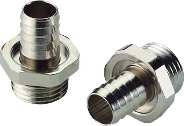 Hadicová spojka rovná LappKabel SILVYN® SSV-M40x1,5 52002845, M40, stříbrná, 10 ks
