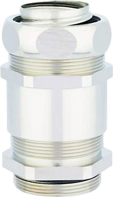 Hadicová spojka rovná LappKabel SILVYN® MSK-M 16x1,5 EDU 55506091, M16, stříbrná, 5 ks