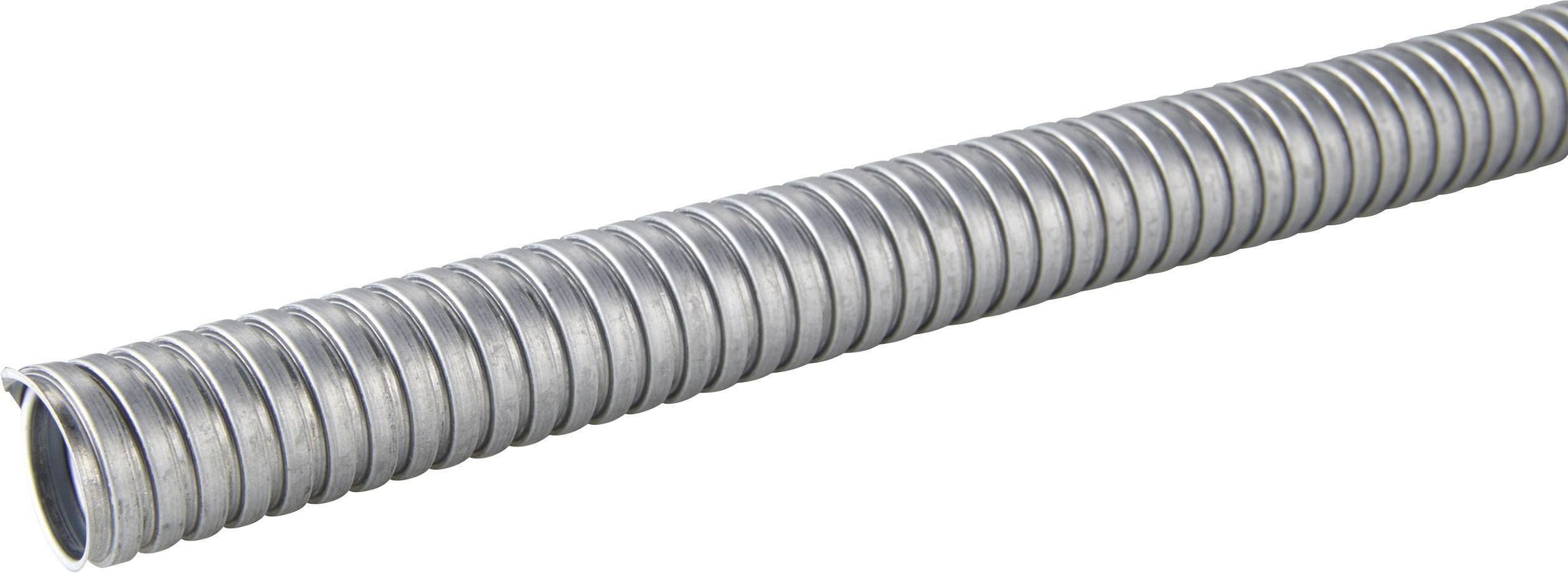 Ochranná hadice na kov LappKabel SILVYN® AS 16/18x21 61802120, stříbrná, 50 m