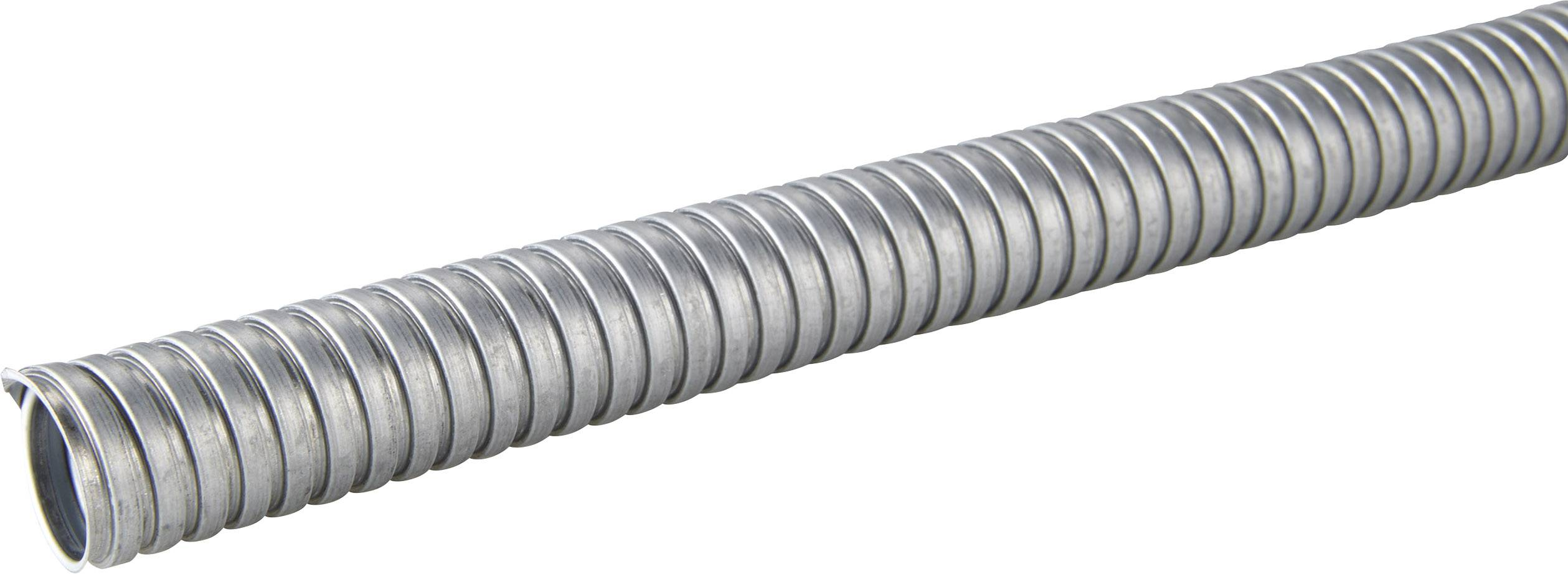 Ochranná hadice na kov LappKabel SILVYN® AS 21/23x27 61802130, stříbrná, 50 m