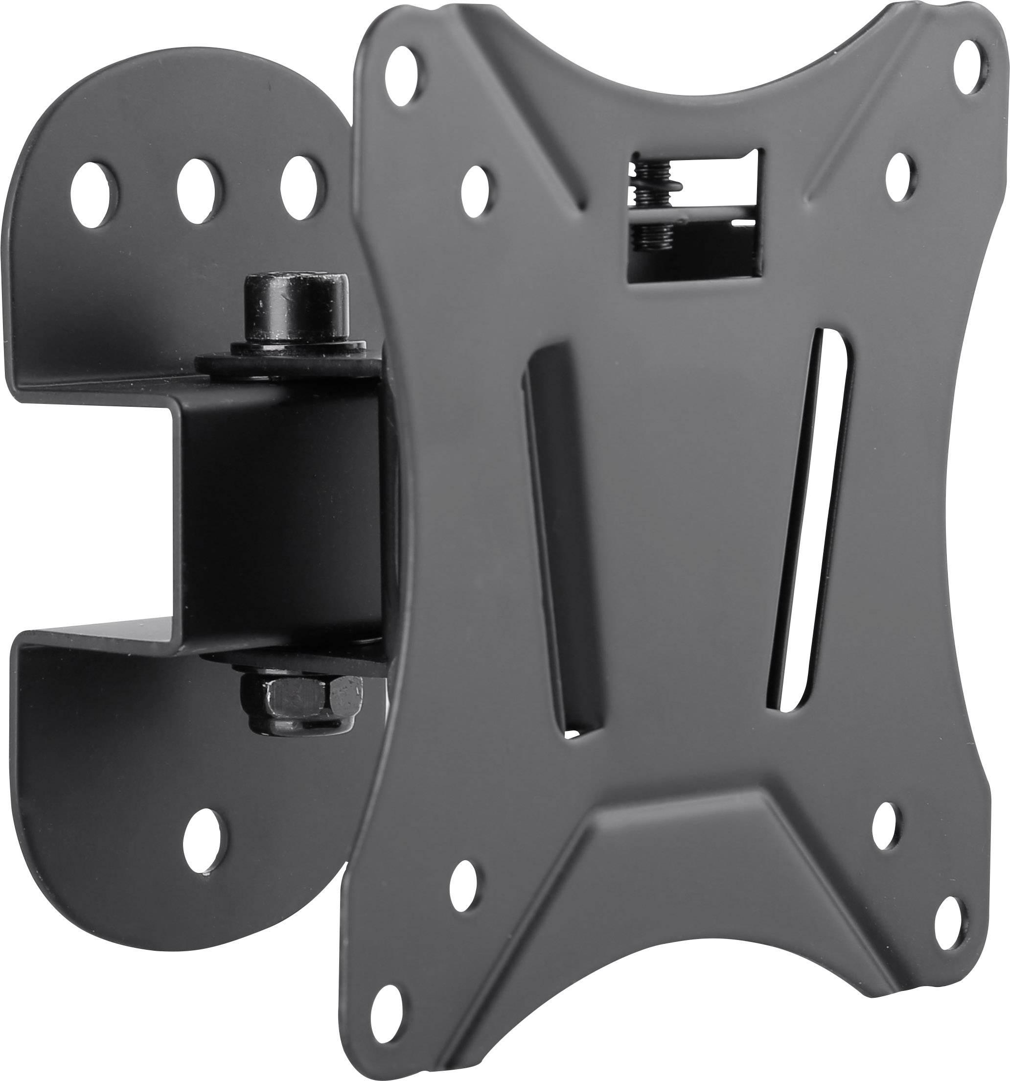 """Držiak na stenu pre monitor SpeaKa Professional SP-6012040, 33,0 cm (13"""") - 68,6 cm (27""""), čierna"""
