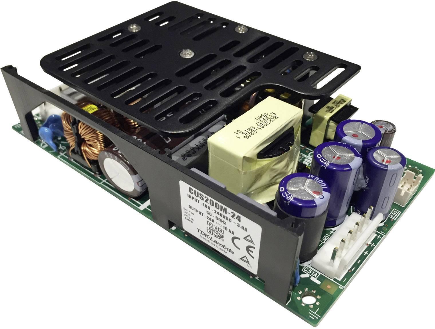 AC/DC vestavný zdroj, open frame TDK-Lambda Medizinisches Netzteil CUS-200M-48, 50.4 V/DC, 5.3 A