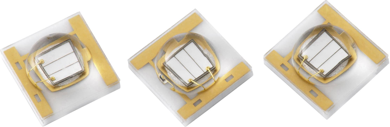 UV zářič SMD Würth Elektronik, 405 nm, 3.45 x 3.45 mm 3535 15335340AA350