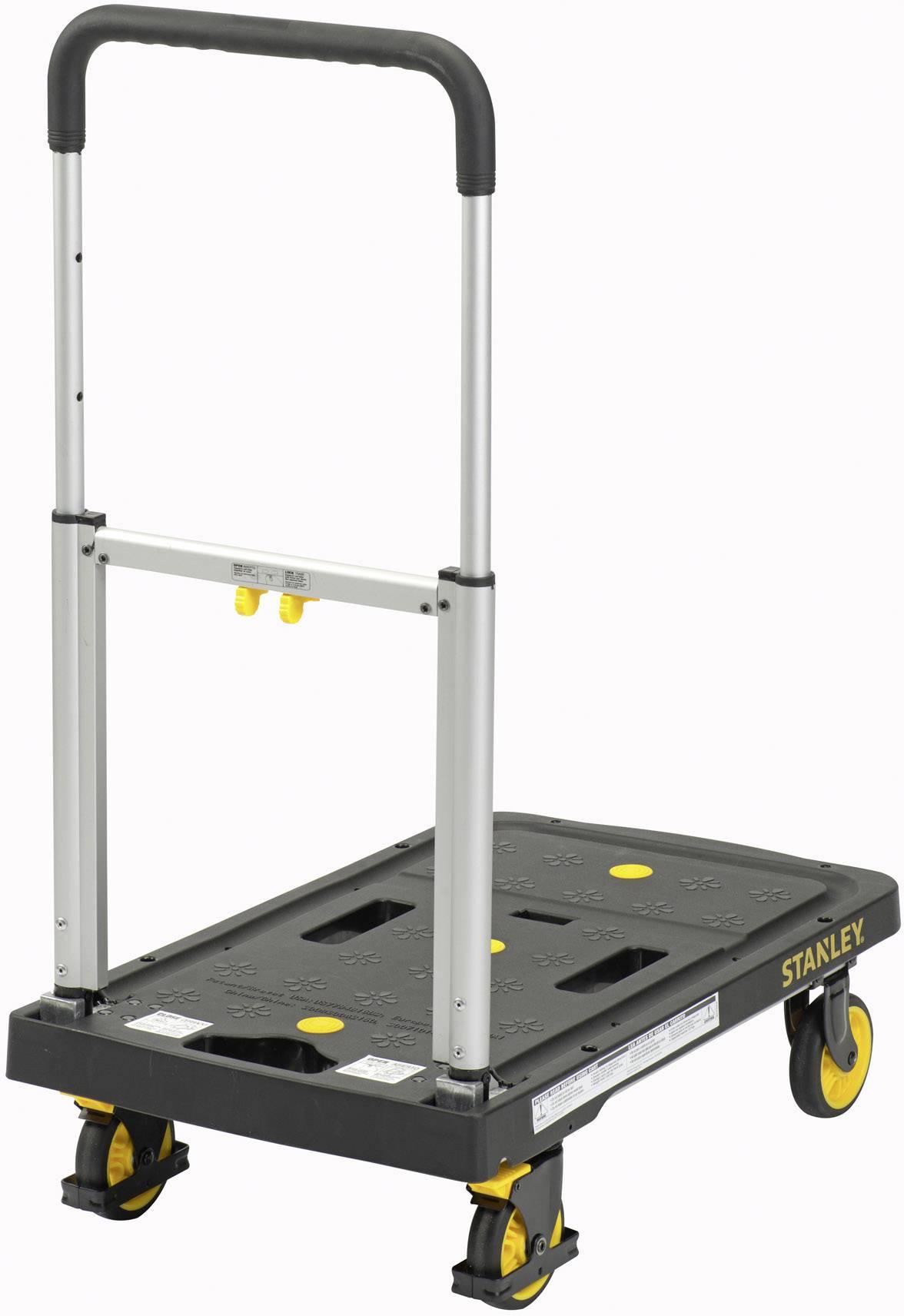 Plošinový vozík skládací hliník Zatížení (max.): 135 kg Stanley by Black & Decker SXWTD-PC506