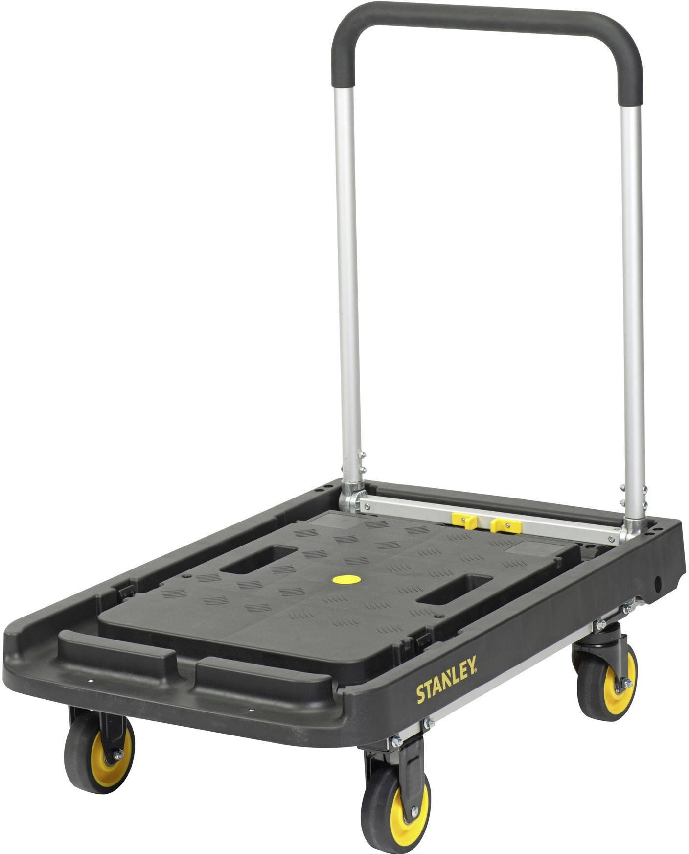 Plošinový vozík skládací hliník Zatížení (max.): 200 kg Stanley by Black & Decker SXWTC-PC507