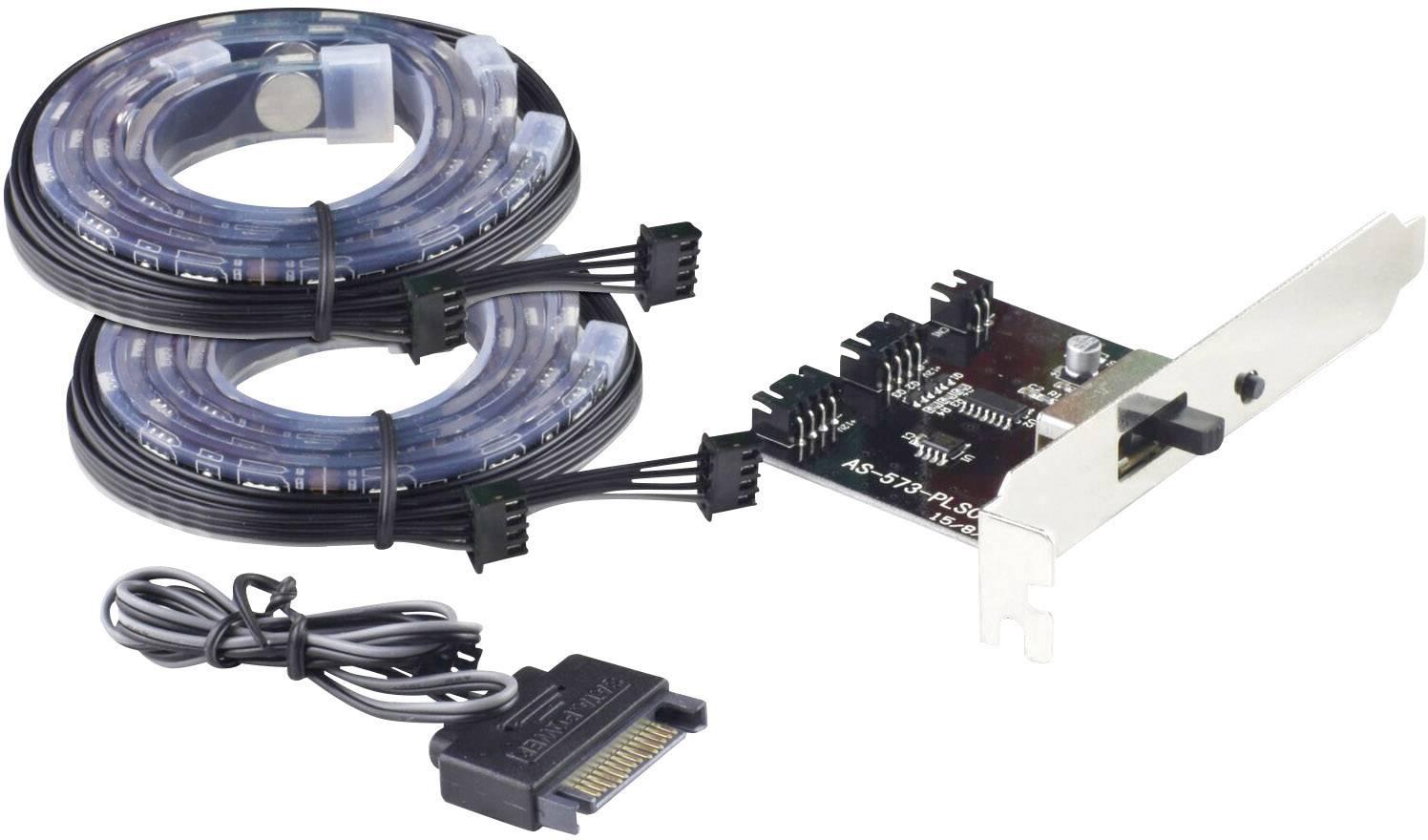 LED pásek do PC Joy-it Multicolor PC LED-System, 300 mm