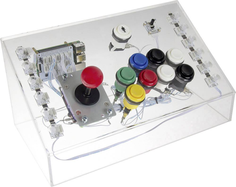 Herní konzole pro Raspberry Pi® 3 Model B Joy-it Raspberry3 Game Station, 1 GB