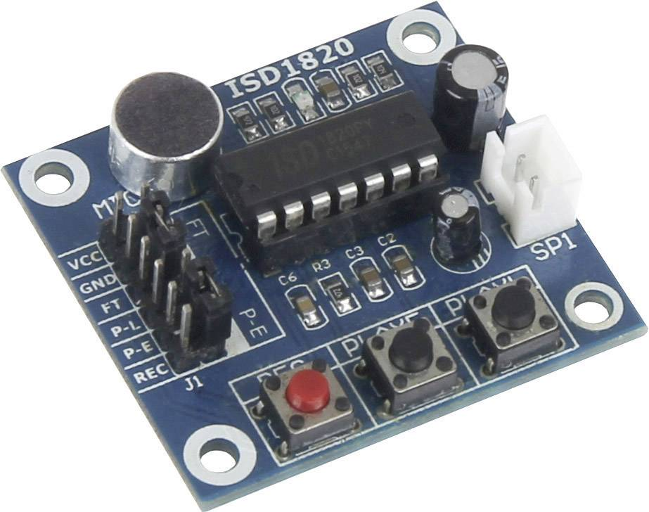 Rozšiřující deska pro Raspberry Pi® Joy-it sbc-soundmodule, sbc-soundmodule, modrá
