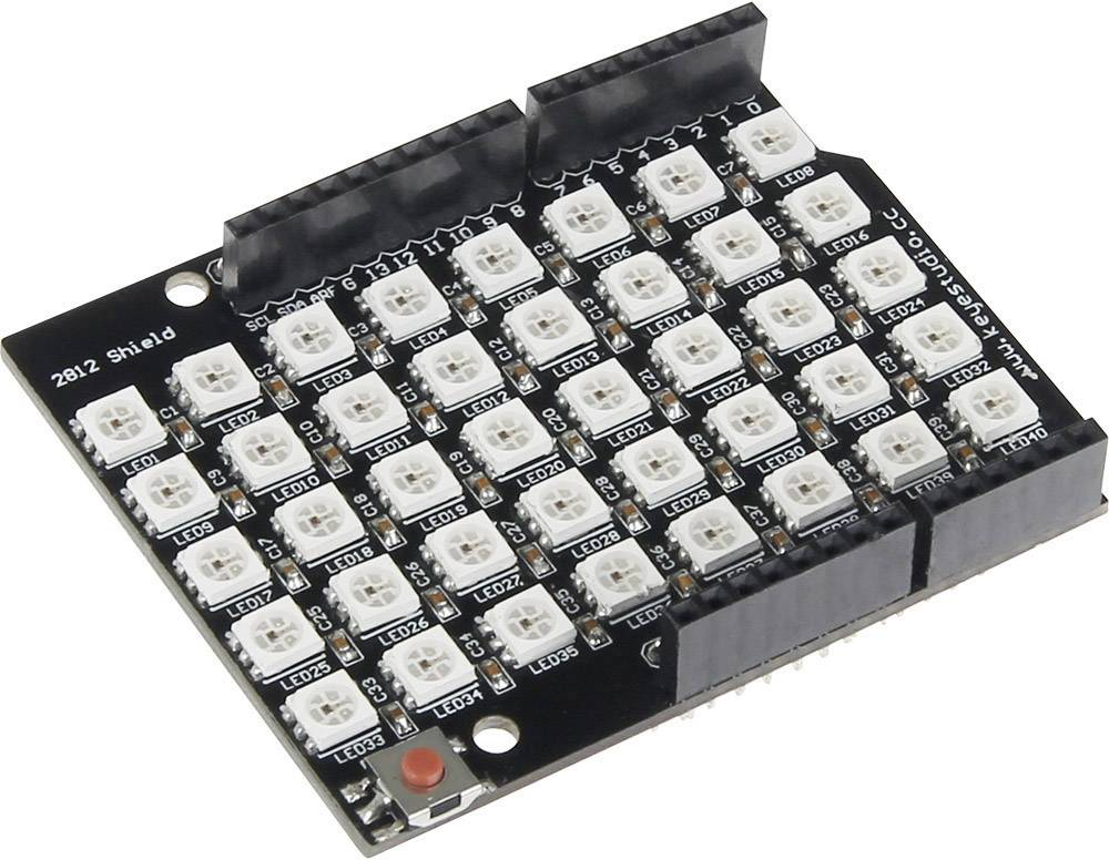 Rozšiřující deska pcDuino Joy-it RGB Shield incl. 40 LED