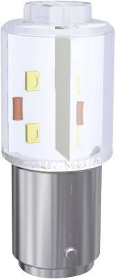 LEDžiarovka Signal Construct MBRD151278, BA15d, 230 V/DC, 230 V/AC, 7500 mlm, zelená