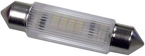 LED žárovka Signal Construct MSOG113954, 24 V DC/AC, teplá bílá, podlouhlá