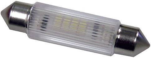 SufitováLEDžiarovka Signal Construct MSOG113904, S8, 24 V/DC, 24 V/AC, 320 mcd, červená