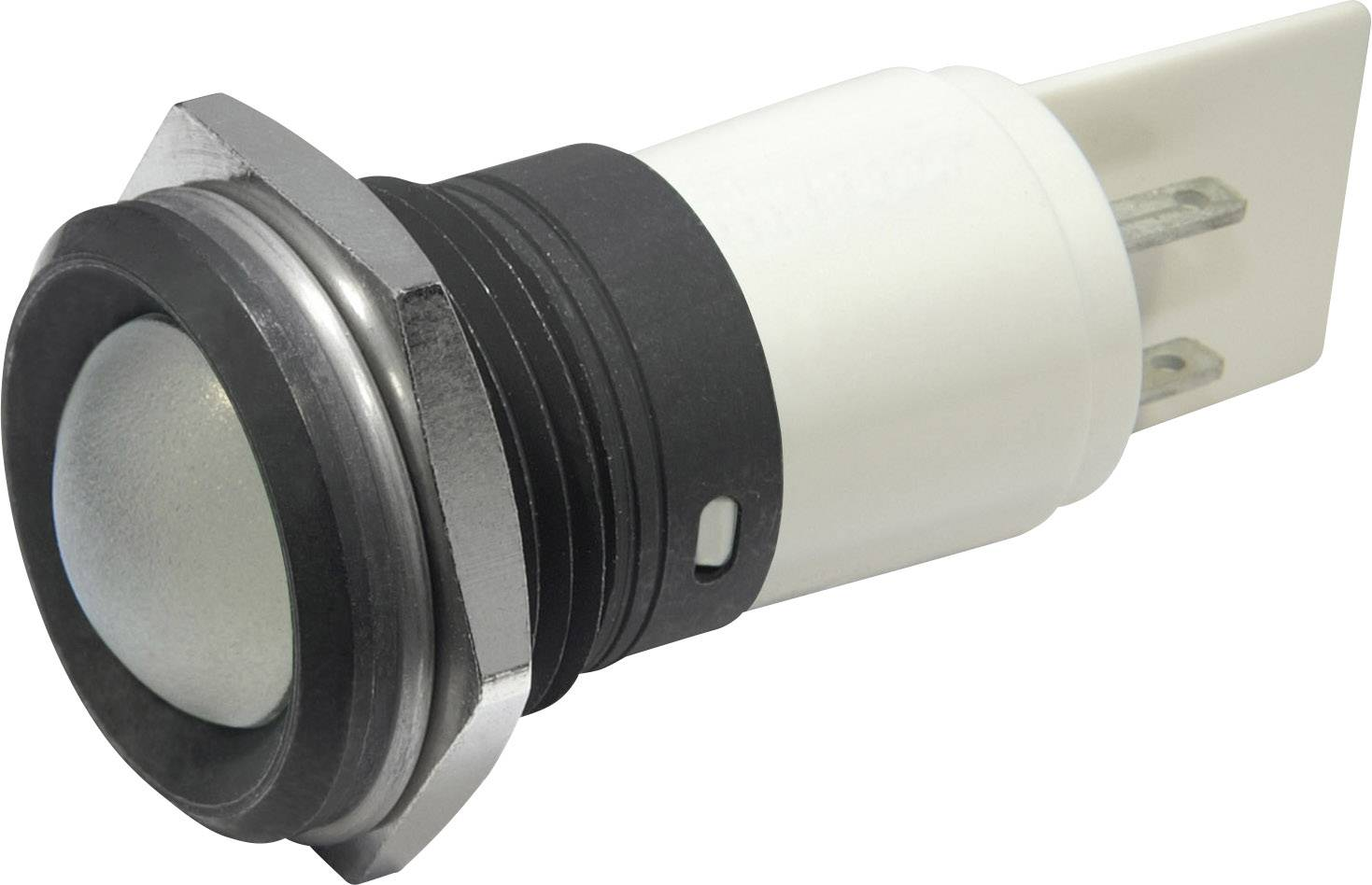 LED signálka CML, IP67, 22mm, 24 V, bílá