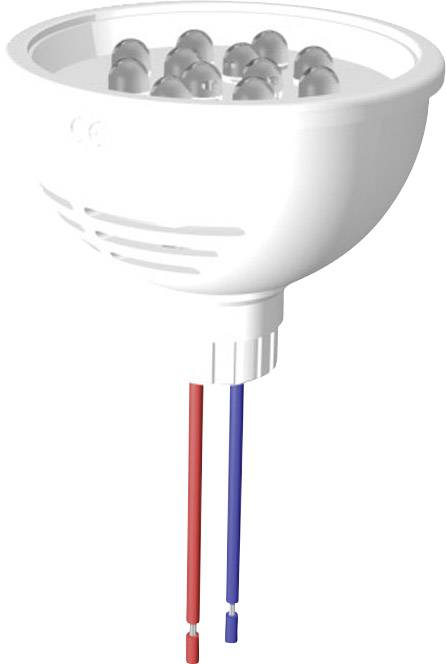 LEDžiarovka Signal Construct MZCL5012564, 24 V/DC, 24 V/AC, 27000 mcd, MZCL 5012564, biela