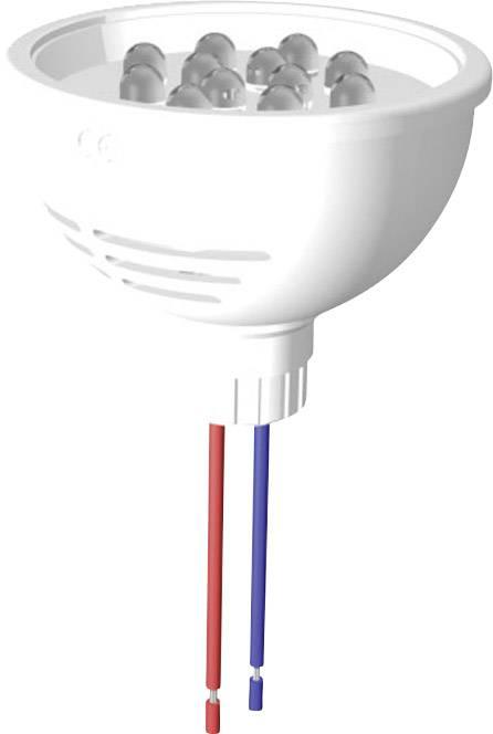 LED SPOT 50mm BÍLÁ 12 LED 24V V IP67