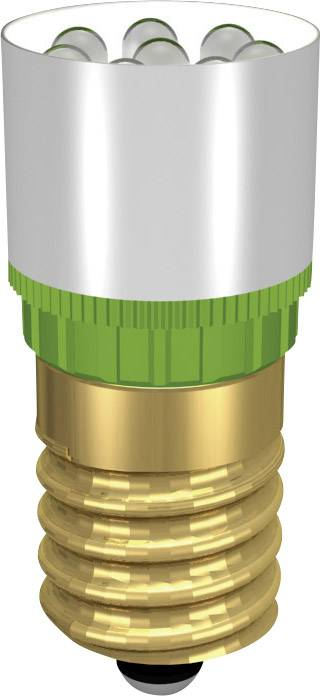 LEDžiarovka Signal Construct MCRE148304, E14, 24 V/DC, 24 V/AC, 4500 mcd, MCRE 148 304, červená