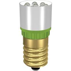LED žárovka E14 Signal Construct, MCRE148372, 12 V, 37000 mcd, ultra zelená, MCRE 148372