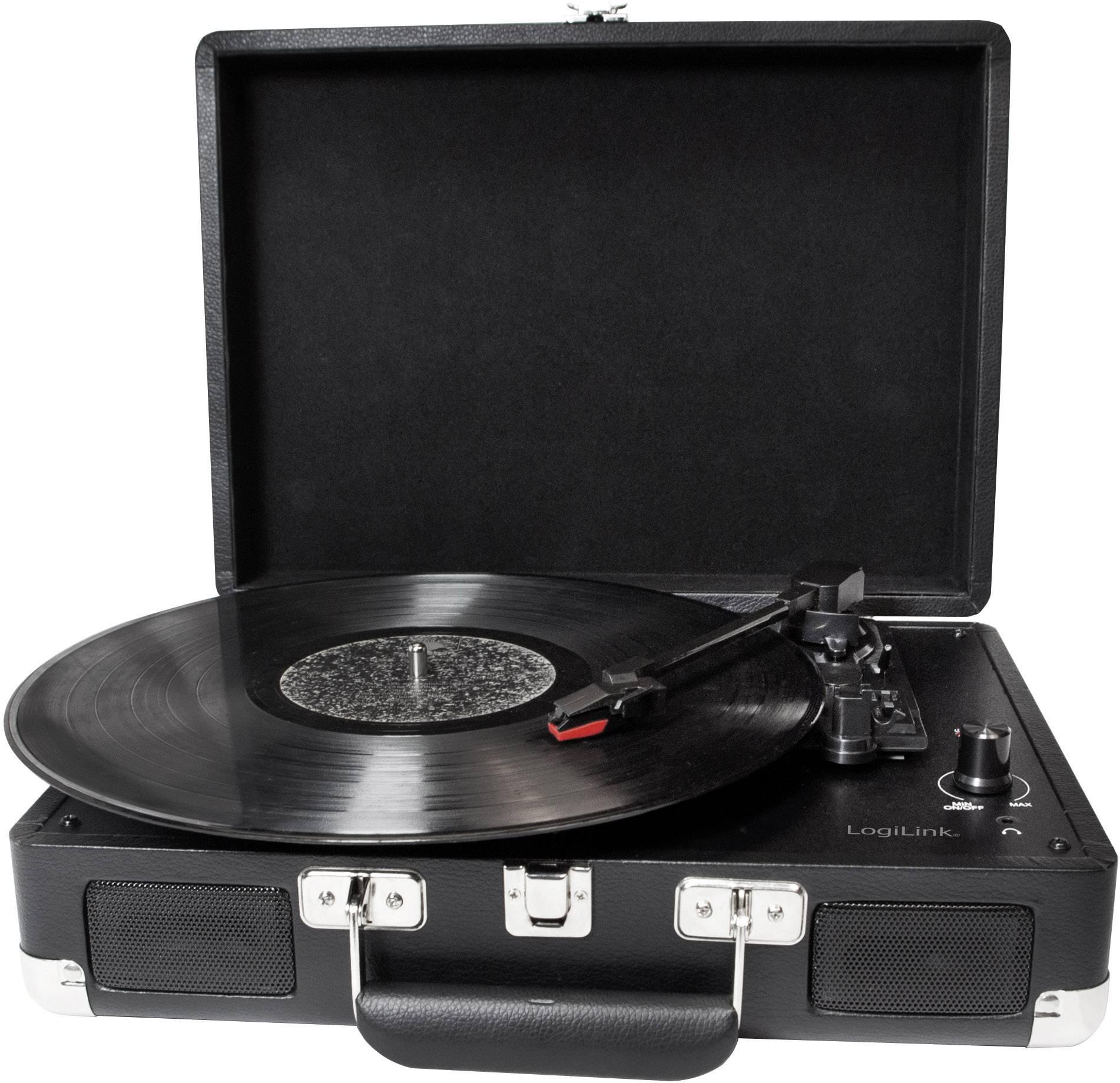 USB gramofón LogiLink UA0270, čierna