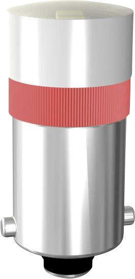 LED multičipové Ba 9s 12/16 - červená