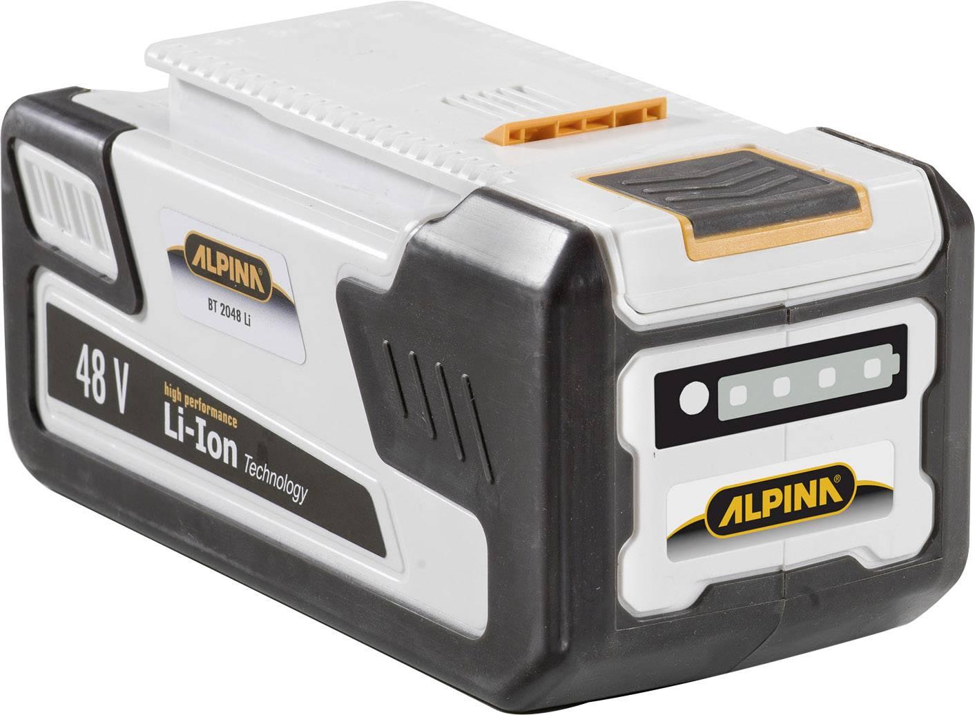 Náhradní akumulátor pro elektrické nářadí, ALPINA BT 2048 270482010/A15, 48 V, 2 Ah, Li-Ion akumulátor