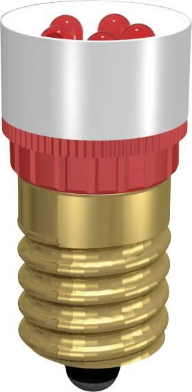 LEDžiarovka Signal Construct MCPE145368, E14, 230 V/DC, 230 V/AC, MCPE145368, biela
