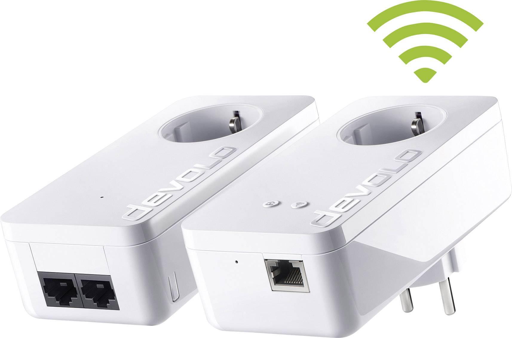 Powerline Wi-Fi Starter Kit Devolo dLAN 550+ WiFi, 500 Mbit/s